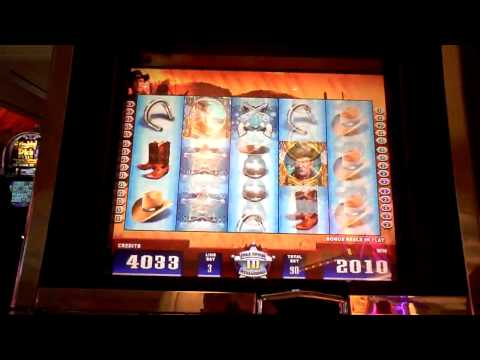 John Wayne Bonus Slot Win with 3 Retriggers