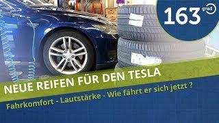 Neue Reifen für das Tesla Model S -
