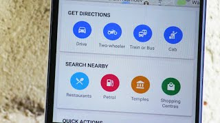 Two wheeler / Bike Navigation in Google Maps Free HD Video