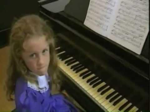 ITV news - Veronika Shoot debut Piano Recital, aged 7