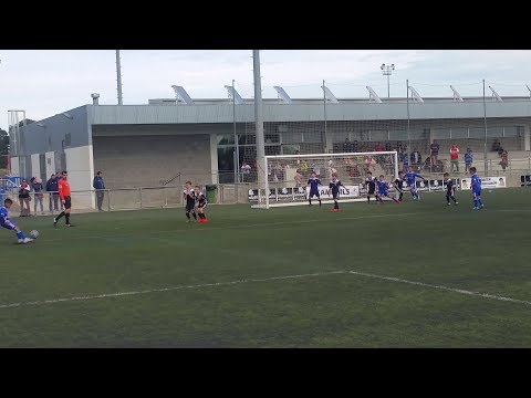 Muscat Football Academy scores a fantastic free kick in Barcelona