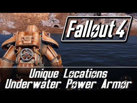 Fallout 4 Unique Locations - Underwater Power Armor | Revered Legend