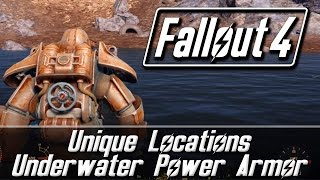 Fallout 4 Unique Locations - Underwater Power Armor | Revered Legend