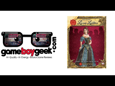 Love Letter Review with the Game Boy Geek