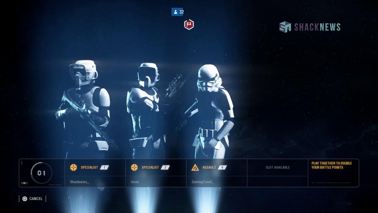Star Wars: Battlefront 2 Gameplay - Galactic Assault Tatooine (Empire)