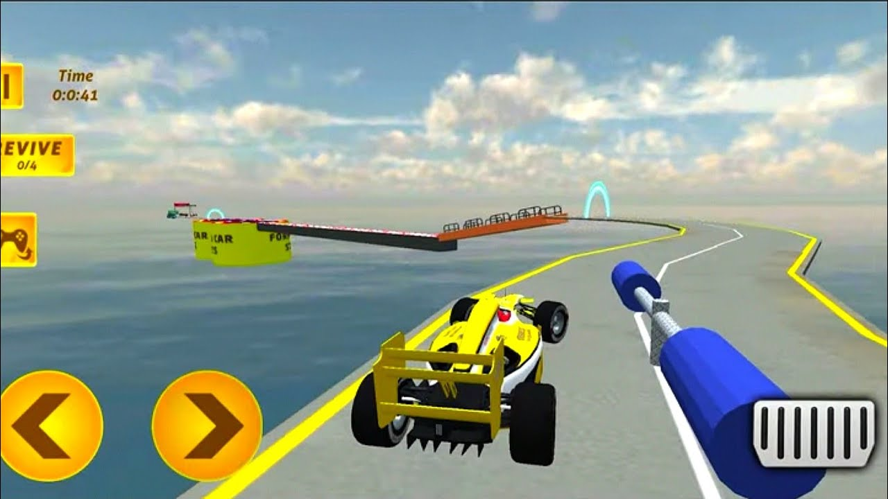 Formula Ramp Car Stunt - #5 Android GamePlay On PC