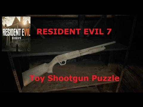 Resident Evil 7 Toy Shotgun Puzzle