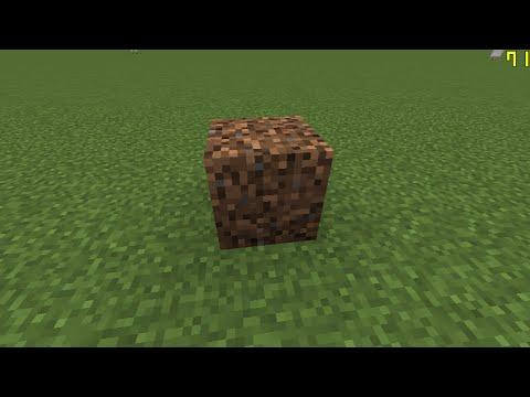Minecraft 1 8 Como Hacer La Tierra Espesa Youtube