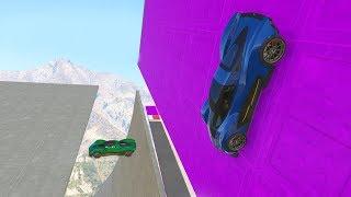 Dzikie stunty na TRUDNEJ mapie! (GTA Online)
