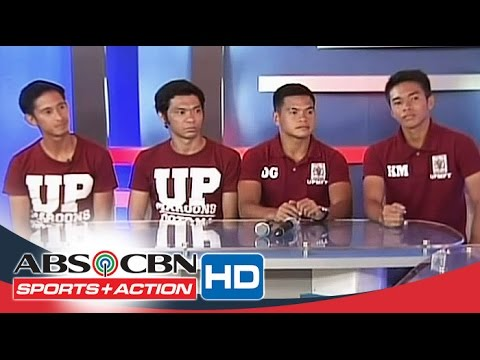 The Score: Rogie Maglinas And UP's Men's Football Team