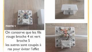 FABRICATION D'UN CABLE ADSL + TÉLÉPHONE POUR BOX NB6 SFR