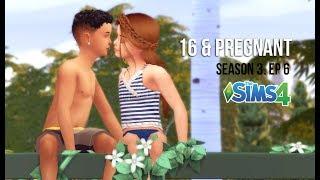 MY FIRST KISS  16  PREGNANT  SEASON 3 EP6  A Sims 4 Series