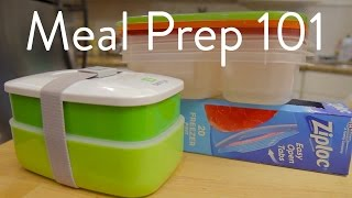 What You Need To Know: Meal Prep 101