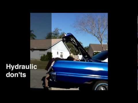 Lowrider Hydraulics Don T Do That For The Beginner Episode 1