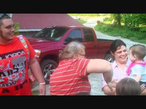 Visiting Grandma Nes in Tennessee