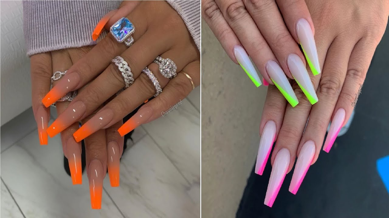 Cute Acrylic Nail Ideas For A Bold And Beautiful Look The Best Nail Art Designs Youtube