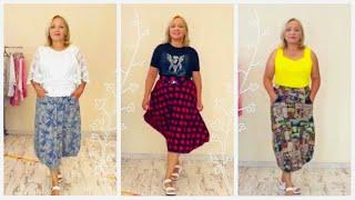 ТРЕНДЫ ЛЕТА 2021 Модные юбки брюки кюлоты блузки и пиджаки