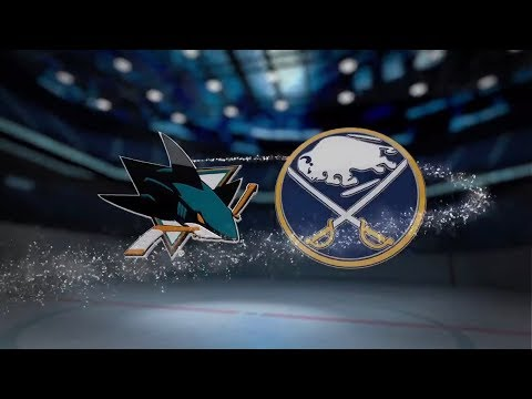 San Jose Sharks vs Buffalo Sabres - October 28, 2017 | Game Highlights | NHL 2017/18 Обзор