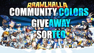 Community colours code giveaway