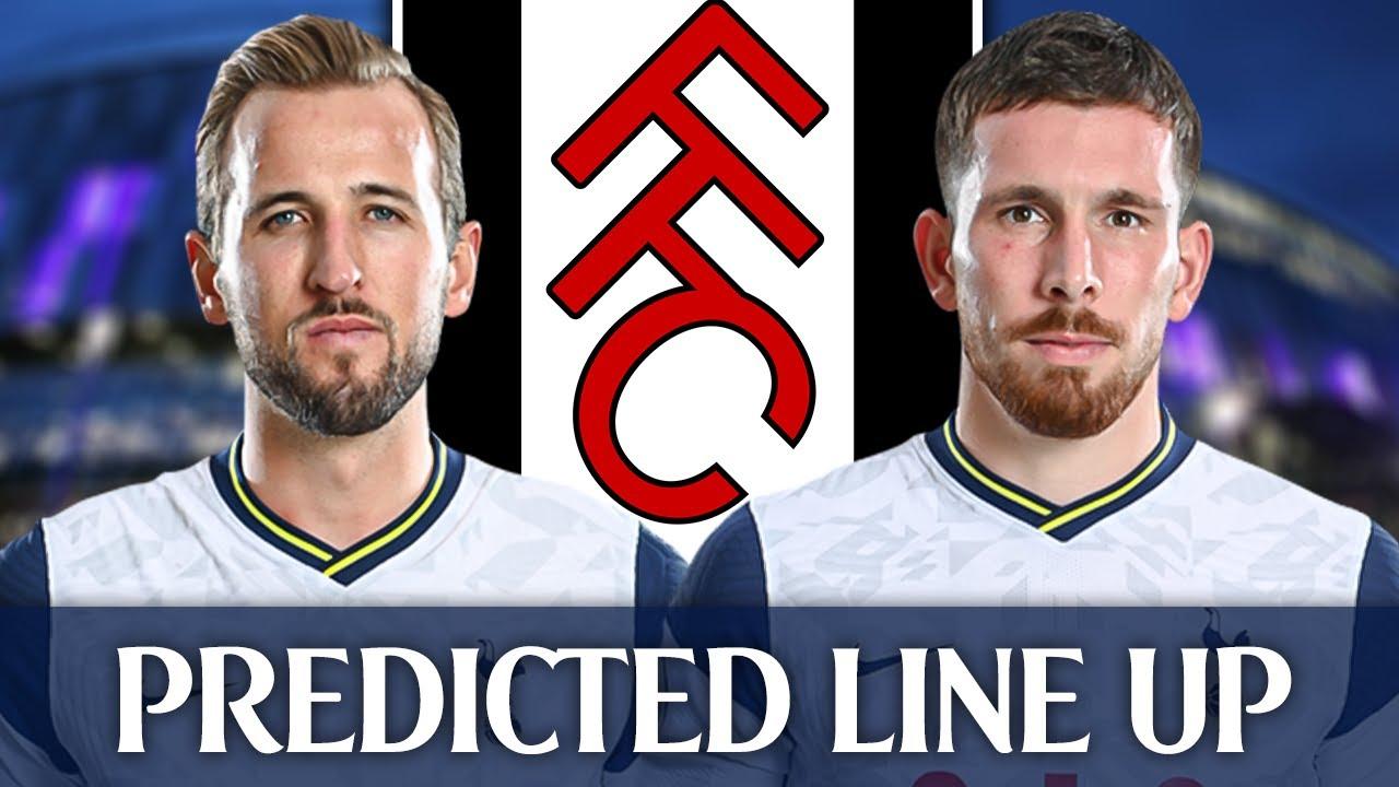 Tottenham Vs Fulham Predicted Line Up Youtube
