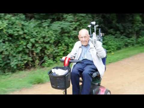 Ray Marshall, Rushmere's oldest playing golfer