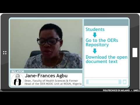 Which advantages for educators? (Jane-Frances Agbu)