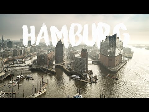 HAMBURG, Germany | Aerial Drone 4K by thedronebook
