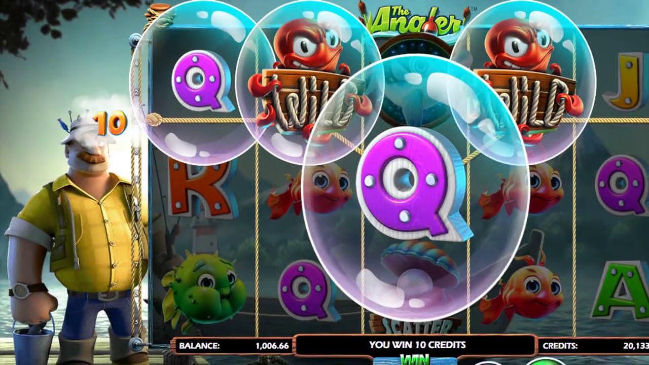 Настоящая рыбалка на игровом слоте «The Angler» в онлайн казино