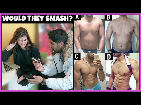 What Body Type Do College Girls Like? (SOCIAL EXPERIMENT)