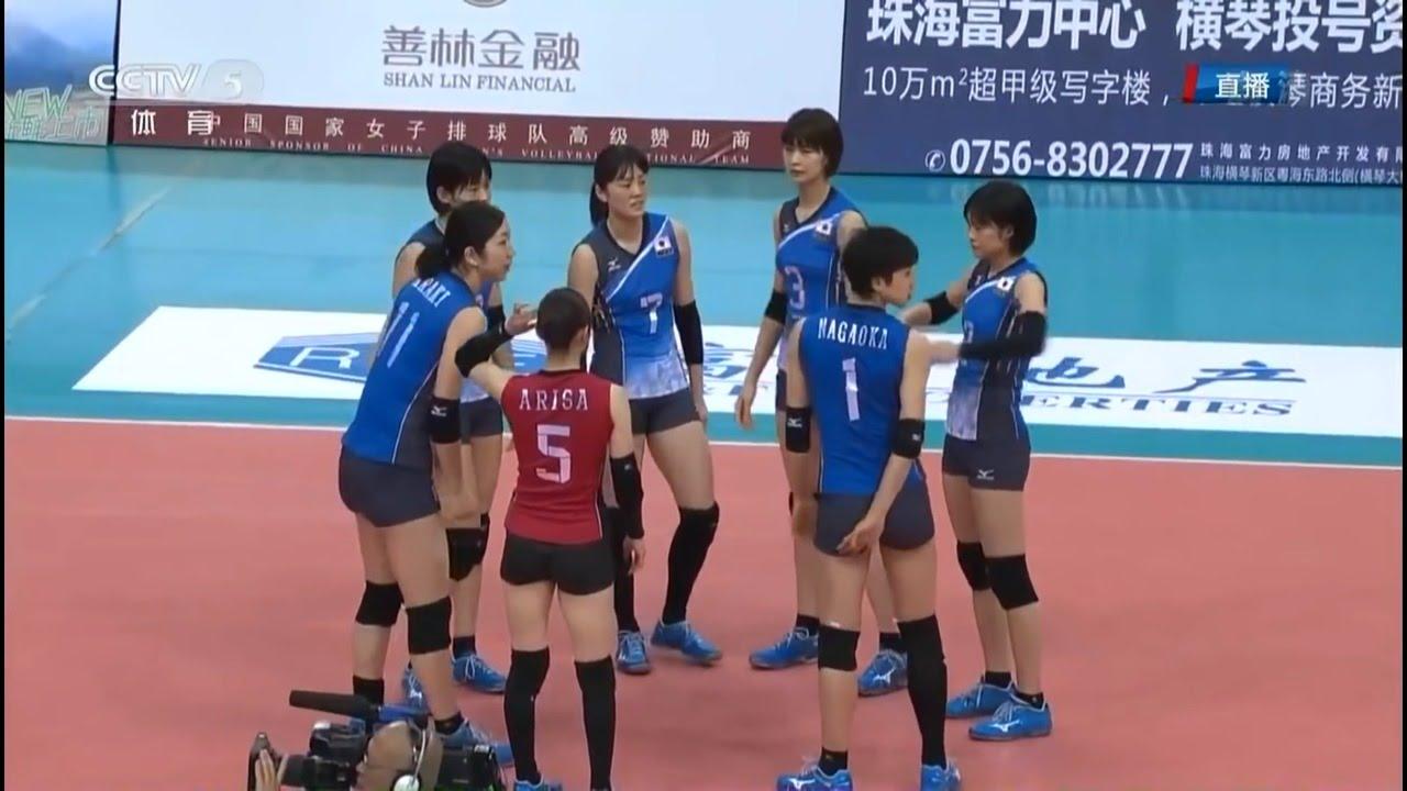 日本vs中国 バレーボール 親善試...