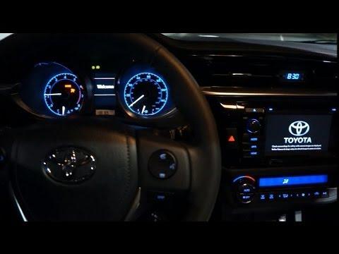 Novo Toyota Corolla 2014 Interior Em Detalhes Brasil