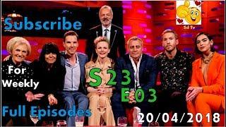 Full Graham Norton Show S23E03 Benedict Cumberbatch, Matt LeBlanc, Maxine Peake