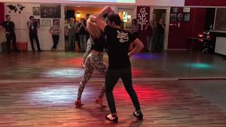 Advanced Salsa turnpattern with Malek & Paulina