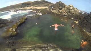 Snorkeling And Cliff Diving - Natural Pool, Aruba  - GoPro Hero 3 Black HD