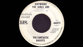 The Fantastic Baggys - Anywhere The Girls Are  - PF Sloan - Surf