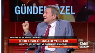 Türk Usulü Başarı Yolları   Prof  Dr  Acar Baltaş