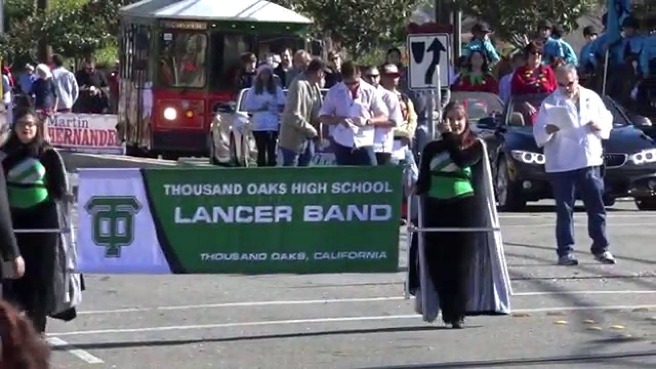 Camarillo Christmas Parade 2020 Thousand Oaks HS Lancer Band   2015 Camarillo Christmas Parade