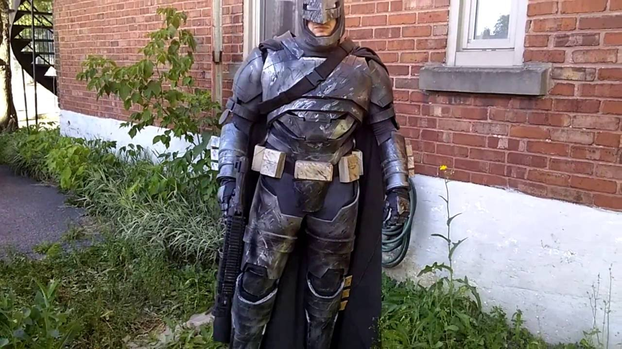 Batman vs superman armor mech costume batsuit costume ...