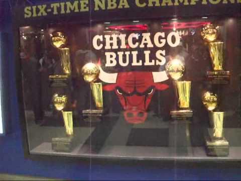 CHICAGO BULLS TROPHIES