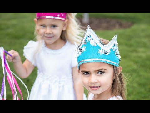 DIY Crown | Frozen Princess Craft | Apostrophe S | Arctic Princess and Starlight Queen Kits