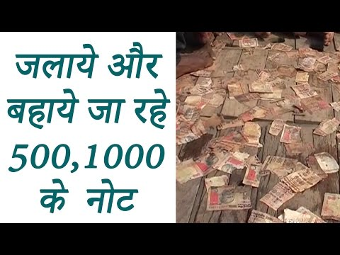 500, 1000 note floating in Ganga river in UP's Mirzapur  | वनइंडिया हिन्दी