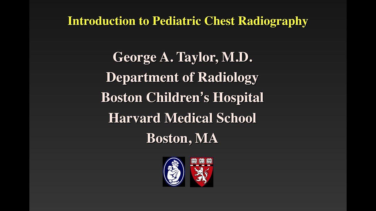 Pediatric radiology pictorial essay