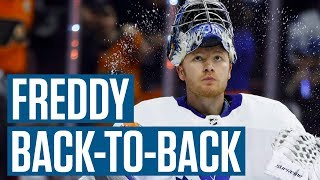 Should Frederik Andersen Play In Back-to-Back Games?   We Need To Talk