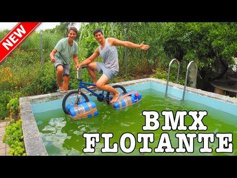 CREAMOS UNA BMX FLOTANTE - Reto extremo!!!