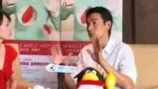刘德华澄清胡主席握手对话内容 thumbnail