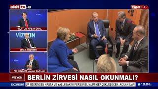 Türkiye Berlin Konferasında, 12 Ülke, 4 Uluslarara