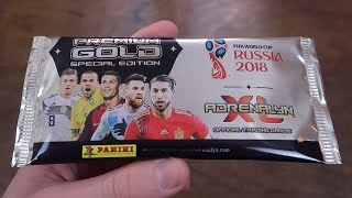 PREMIUM GOLD PACK! Adrenalyn XL World Cup 2018