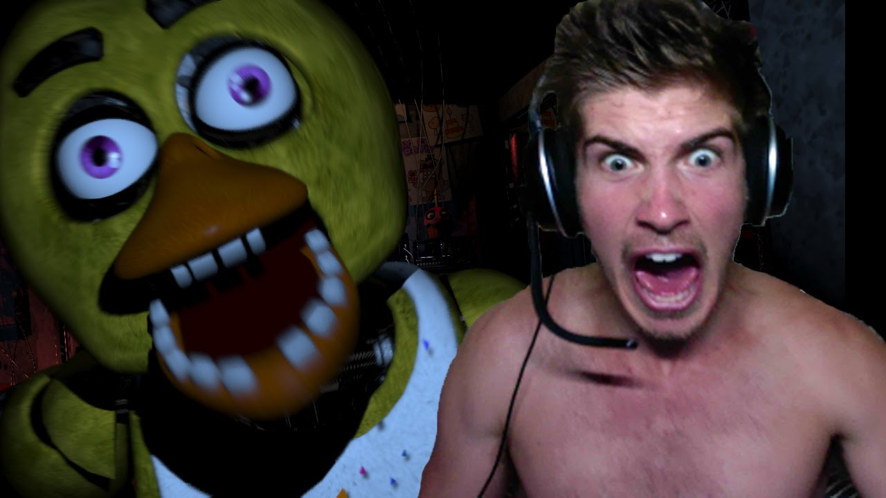 Pewdiepie playing Five nights at Freddys, the most evil ...