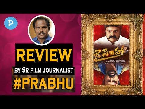 Jai Simha Movie Review Rating by Sr Journalist Prabhu | Balakrishna