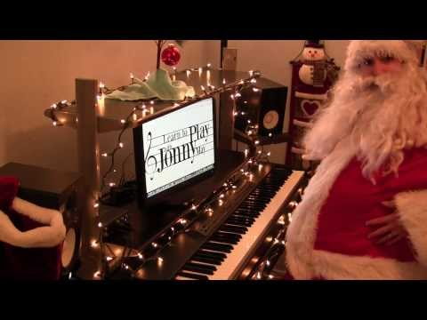 """""""Santa Claus is Coming to Town"""" played by Santa himself!"""